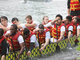 213. New Year's Resolutions and Dragon Boat Racing