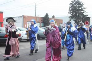 Parade in Etobicoke. Copyright ©2012 Ruth Lor Malloy.