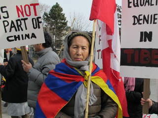 238. Report on March 10 Tibetan Rally