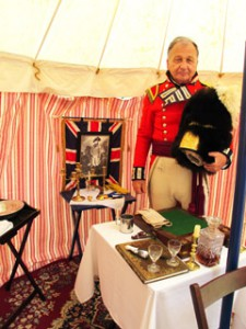 1812 Officer's tent.