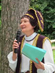 President Mirslu Aslanova.   Copyright ©2012 Ruth Lor Malloy