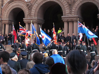 324. Toronto's Remembrance Day Service, a Report