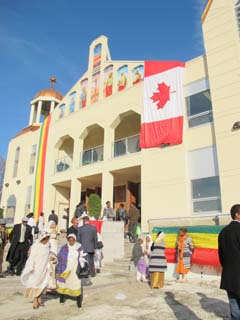 328. Consecration of the new Ethiopian Orthodox Cathedral, a Report