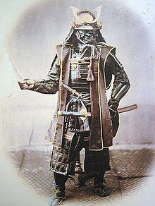 19th C Samurai. Photo Felice Beato. Courtesy of Wikipedia.