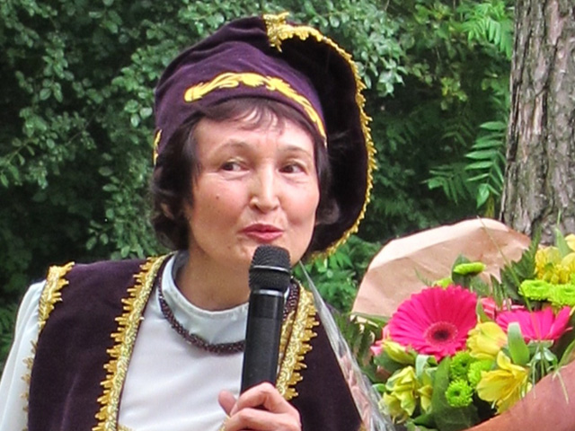 President Mirslu Aslanova, Ontario Berlek Community Services.