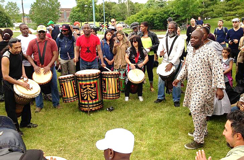 384. World's Drumming Beat – Report on Muhtadi Festival 2013.