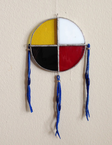 My new Medicine Wheel. Copyright ©2013 Emmanuel Gallant