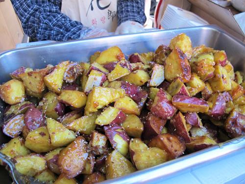 Korean Sweet Potatoes. Copyright ©2013 Ruth Lor Malloy