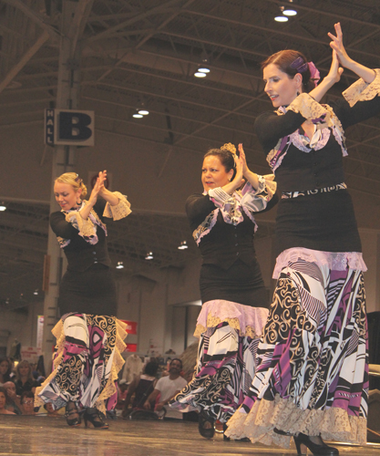 Carmen Romero Dancers at CNE. Copyright ©2013 Ruth Lor Malloy