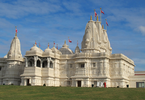 BAPS Shri Swaminarayan Mandir. Copyright ©2013 Ruth Lor Malloy