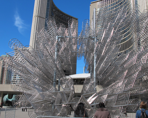 423. October 27 Last Day Ai Wei Wei's Forever Bicycles 2013