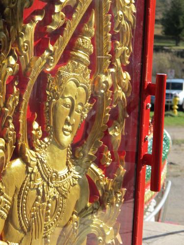 Laotian Apsara. Copyright ©2013 Ruth Lor Malloy
