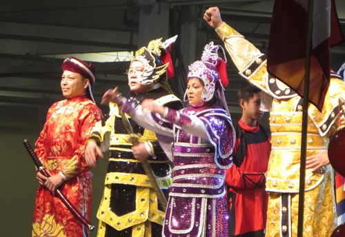 Classical Vietnamese Opera.  Copyright ©2014 Ruth Lor Malloy.