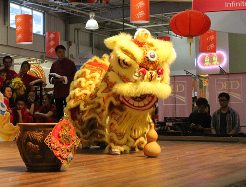 Ray Lum Lion Dance. Copyright ©2014 Ruth Lor Malloy.