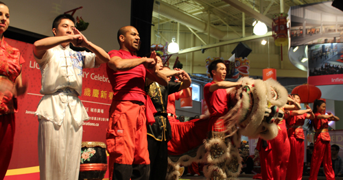 453. Report on Chinese Lion Dance Contest 2014