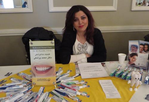 Dentist Dr. Pezeshki. Copyright ©2014 Ruth Lor Malloy.
