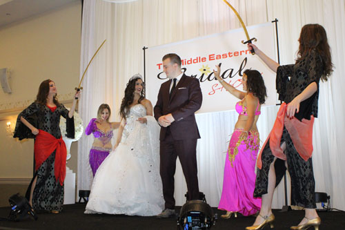 Lebanese Wedding Custom in Multicultural Toronto.  Copyright ©2014 Ruth