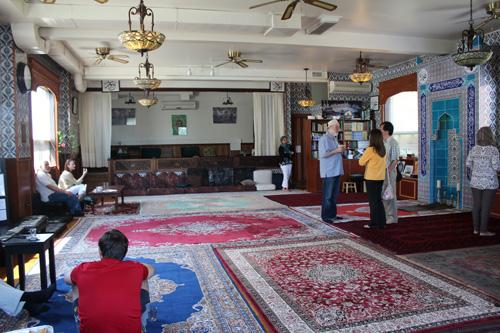Sufi Cultural Centre. Copyright ©2014 Ruth Lor Malloy