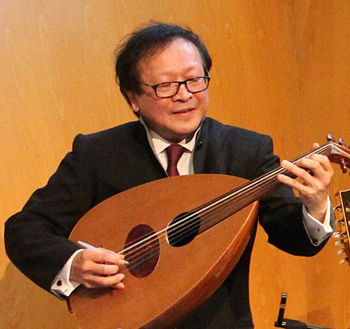 Prof. Chan Ka Nin.  Copyright ©2014 Ruth Lor Malloy