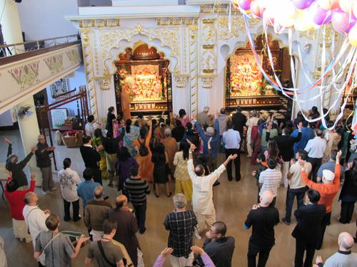 Hare Krishna Temple. Copyright ©2014 Ruth Lor Malloy