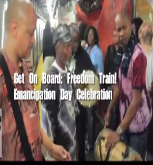 500. Second Underground Freedom Train July 31, 2014