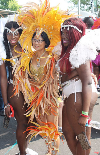 Olivia Chow at Caribbean Carnival. Image courtesy: https://www.facebook.com/OliviaChowTO