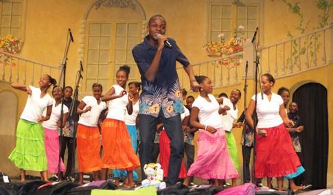 Haiti's Saint Famille.  CNE. Copyright ©2014 Ruth Lor Malloy