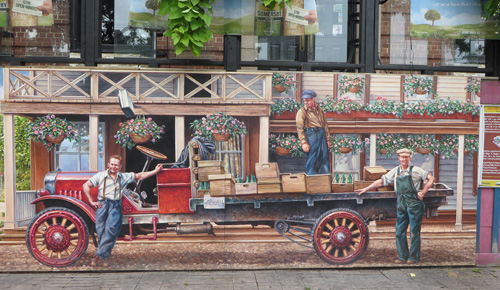 Islington Village Murals. Copyright ©2014 Ruth Lor Malloy