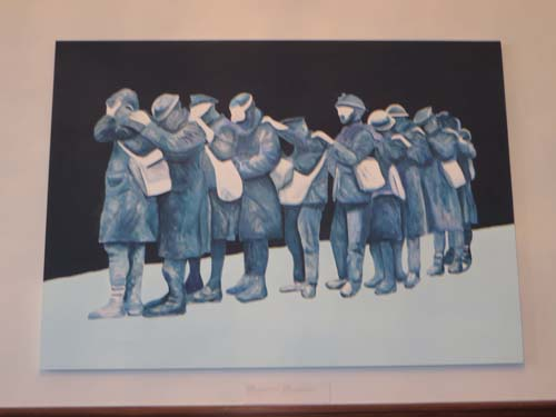 Cortege by Charles Pachter.