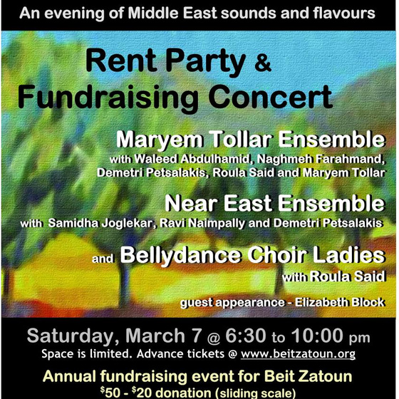 445. Middle East Sounds and Flavours Beit Zatoun – 2015