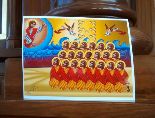 Coptic Christian Martyrs in Toronto