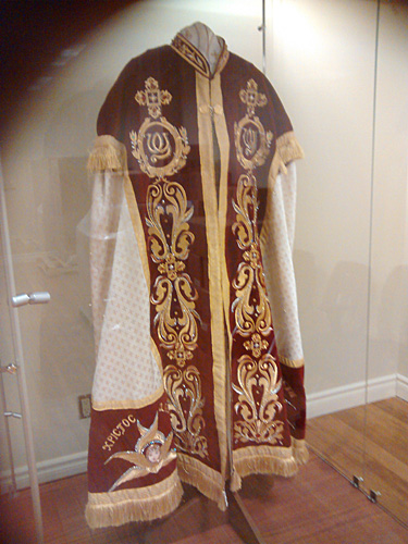 Liturgical Vestments of H.H. Pope Shenouda III. Gift from H.H. P