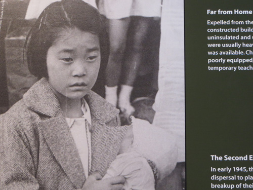 Internment of Japanese-Canadian Families.  Photo from Canadian War Museum.