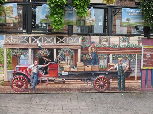 Islington Mural.