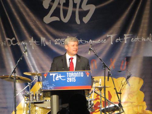 Prime Minister Stephen Harper. Copyright ©2015 Ruth Lor Malloy.