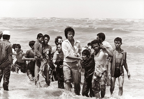 Photo:  K. Gaug;er,  Vietnamese Refugees' Archive