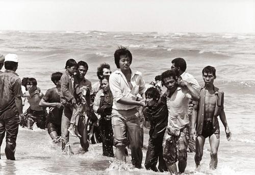 Photo:  K. Gaug;er,  Vietnamese Refugees' Archive