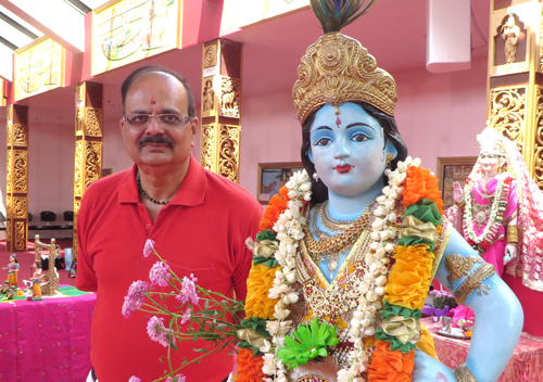 498. Report of Visit to a Very Friendly Vishnu Mandir Temple – 2015