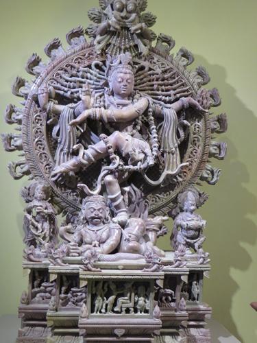 Dancing Shiva, the Destroyer