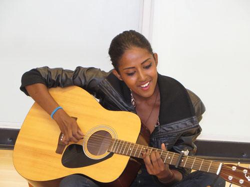 Sophia from Guyana.  Copyright ©2015 Ruth Lor Malloy