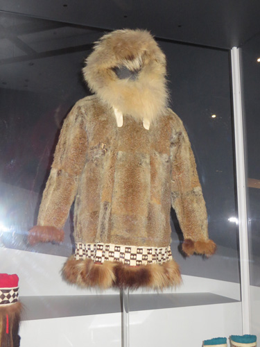 Squirrel skin parka at Bata Shoe Museum. Image Copyright ©2016 Ruth Lor Malloy