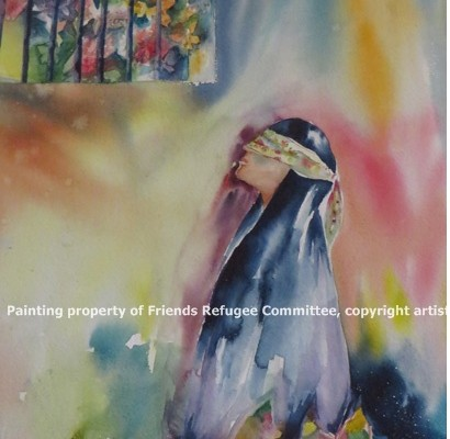 637. Beyond Fear and Loss – Refugee Art, April, 2016