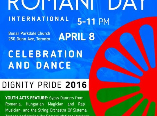 628. Romani Day Int'l Celebration – April 8, 2016