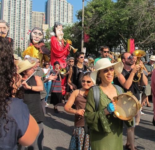 Ashkenaz Parade. Copyright ©2015 Ruth Lor Malloy