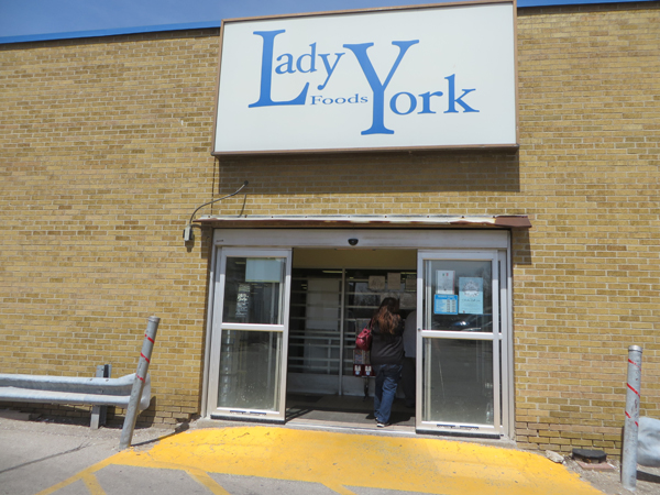 Lady York Foods. Image Copyright ©2016 Ruth Lor Malloy