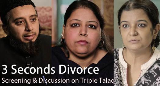 698. Film & Discussion Muslim 3 Seconds Divorce – July 19, 2016