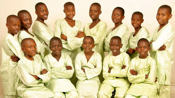Image Nema Children's Choir from Voices of the Nations.
