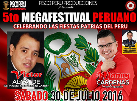 675. Peruvian Festival July 30 – 2016