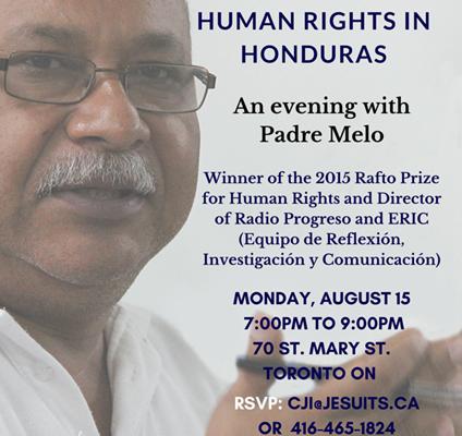 683. Human Rights in Honduras – August 15, 2016