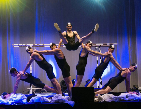 Image of The Cool Swiss Acrobats courtesy CNE.
